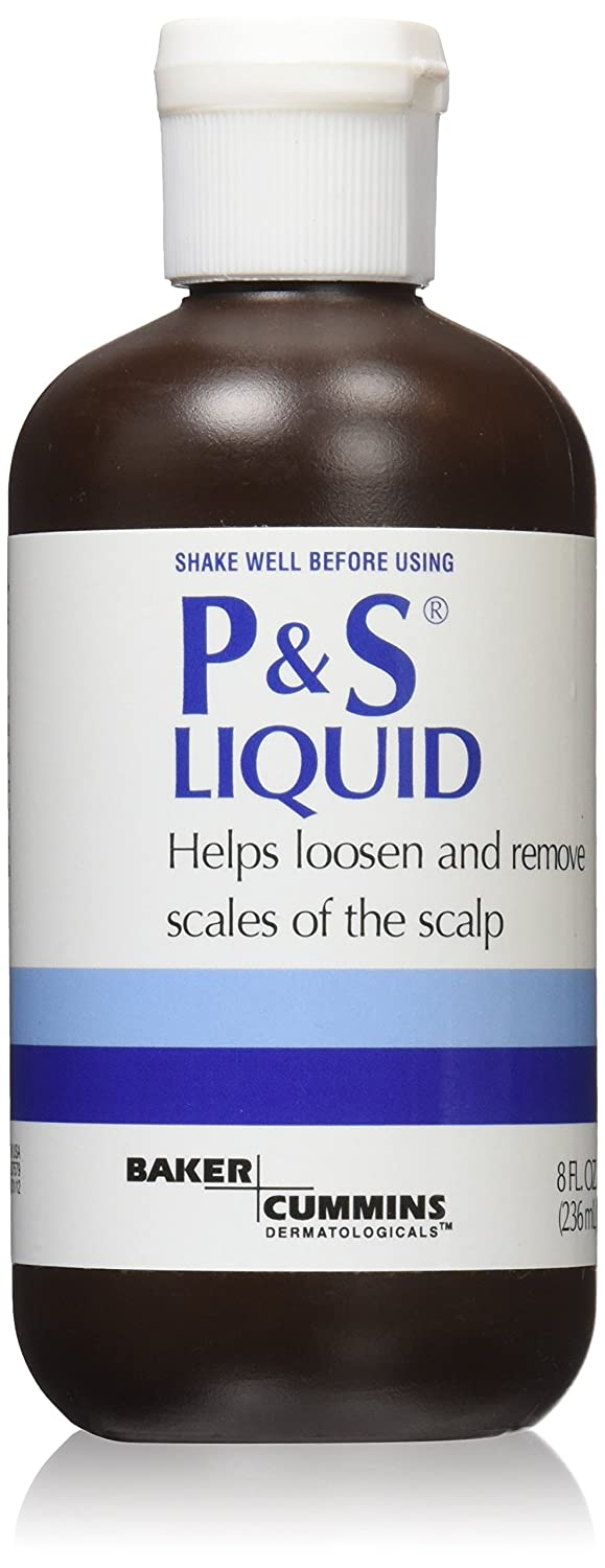 P and S Hair Liquid 8 oz