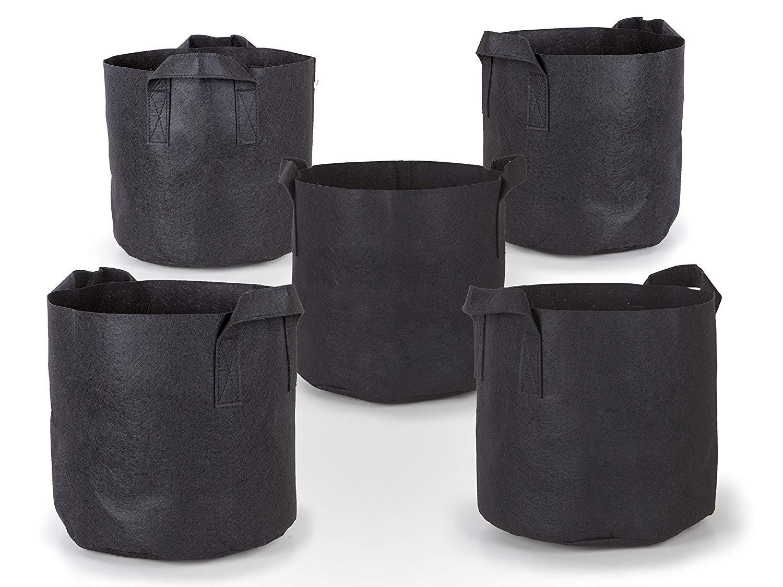 Potato Grow Bags,2-Pack 10 Gallon Potato Planter Bag, Double Layer Nonwoven Cloth Fabric Pots with Handles for Vegetables, Fruit, Carrot, Tomato, Onion