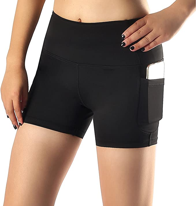 Sugar Pocket Womens Side Pockets Running Shorts Pants