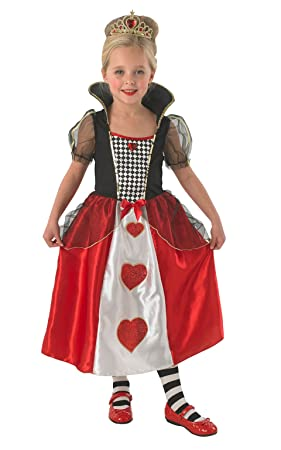 Rubieu0027s 880341 Queen of Hearts - Childrens Fancy Dress Costume - Small - 104cm - Age  sc 1 st  Amazon UK : child fancy dress costume  - Germanpascual.Com