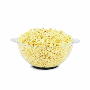 The popper's cover converts into a popcorn serving bowl