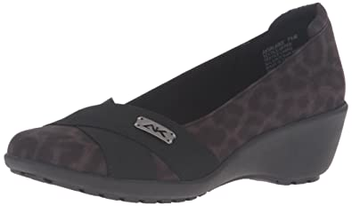 Womens Shoes Anne Klein Weekend Black/Grey