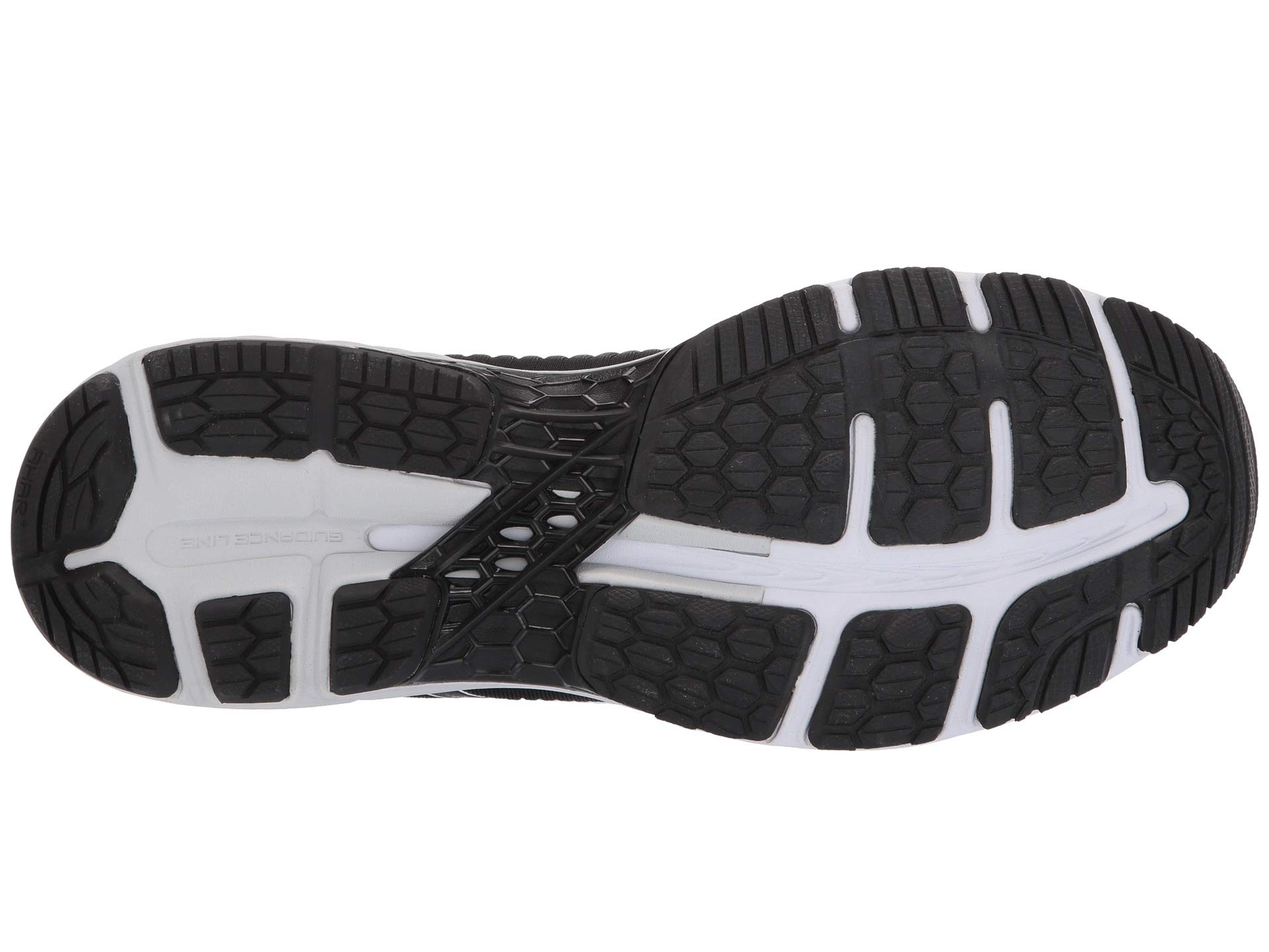 ASICS Gel Kayano 25 Men's Running Shoe, Black/Glacier Grey, 6.5 D US by ASICS (Image #4)