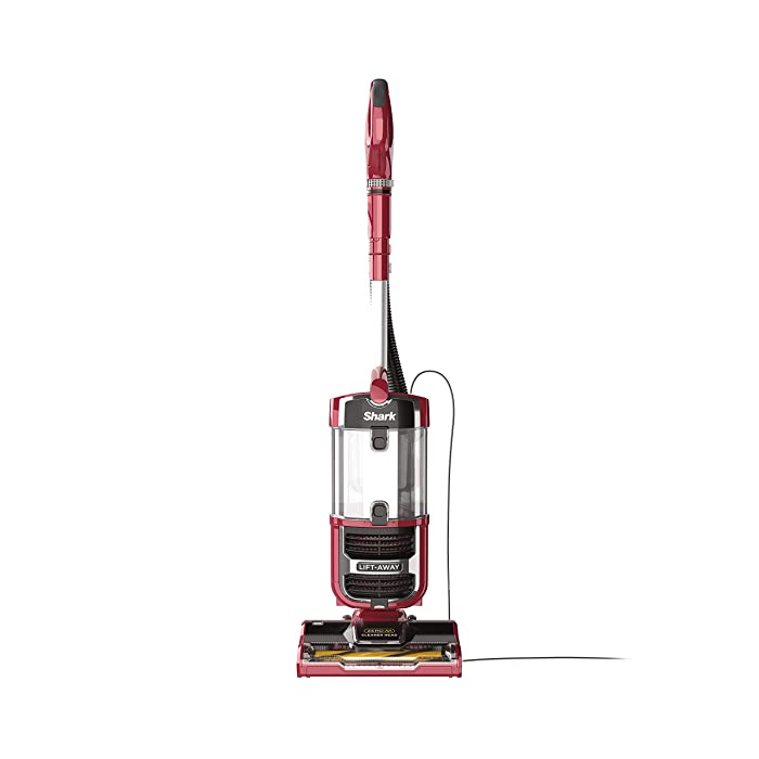 Shark Navigator Upright Vacuum with Lift-Away, Zero-M Anti-Hair Wrap Technology, Anti-Allergen + HEPA Filter and Swivel Steering (ZU561), Red Peony