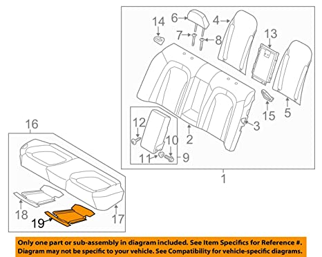 Kia Genuine 89190-2T010 Seat Cushion Heater