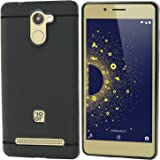 Thinkzy Matte Finish Soft Back Case Cover for 10.Or D - Black