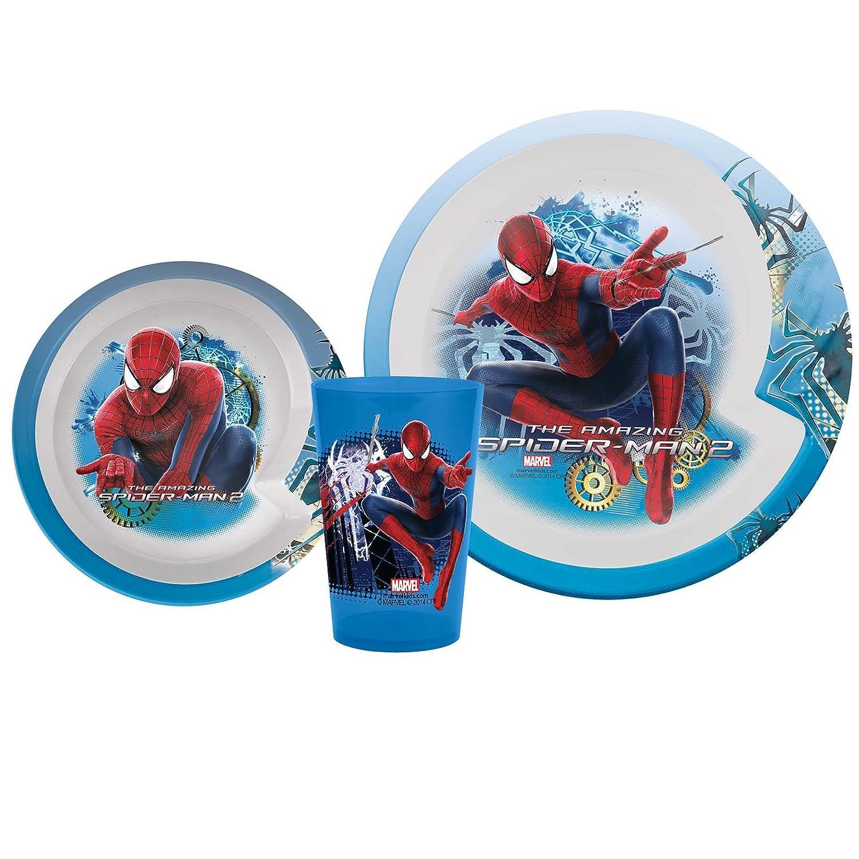 優先配送 Zak Designs Amazing Spiderman Amazing 2 3ピース食器セット 2 B00JGQ9YSS, 富士市:11c06885 --- a0267596.xsph.ru