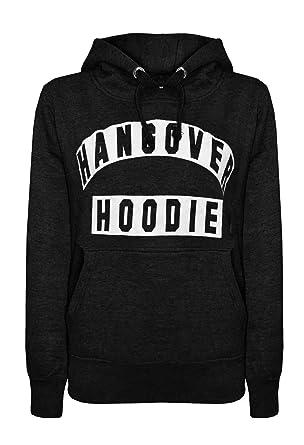 f865e2dc511ad NORAME Women s Hangover Hoodie Basic Drawstring Long Sleeves Hoodie  Sweatshirt (Tag S   US 0