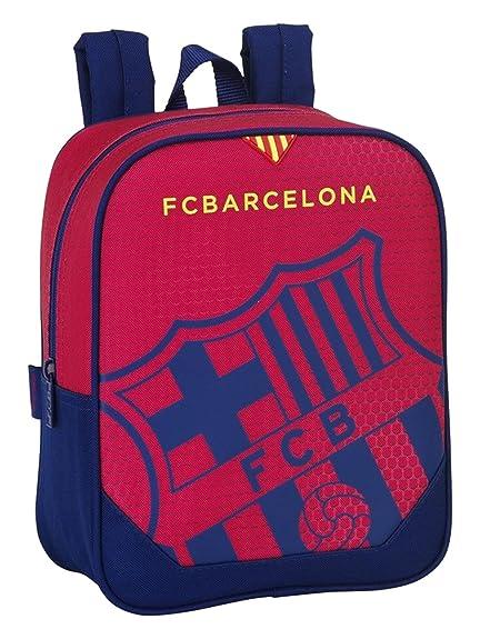 Safta 077063 F.C. Barcelona Mochila Tipo Casual, Color Azul y Granate: Amazon.es: Zapatos y complementos