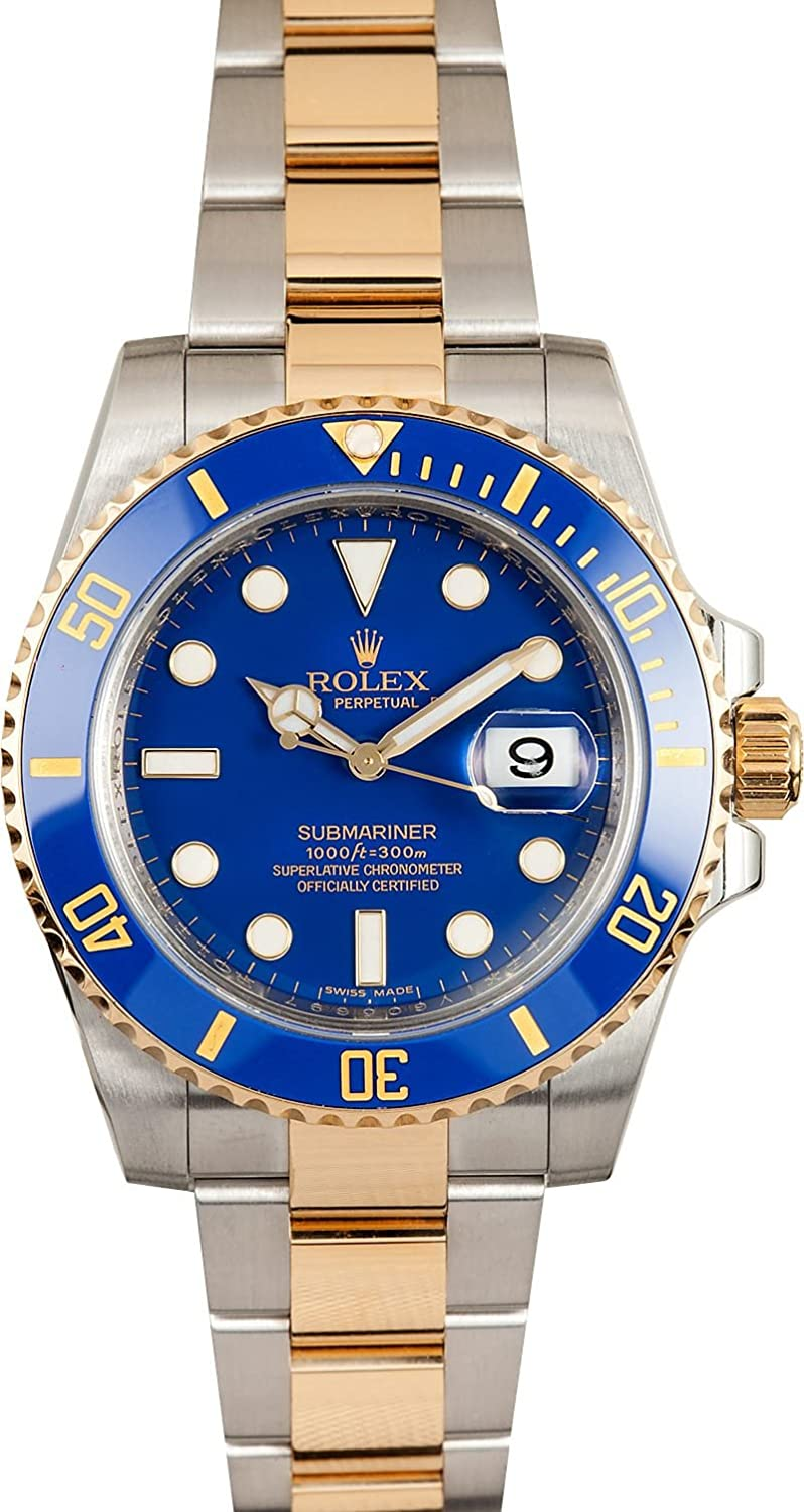 Amazon.com Rolex Submariner Stainless Steel Yellow Gold