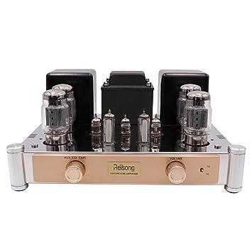 reisong mano alambre KT88 Push Pull Tubo integrado amplificador 35 W 60 W HIFI Audio Vintage