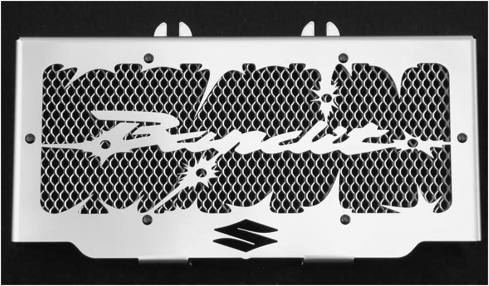 alambrera de protecci/ón plateada protecci/ón de radiador GSF 600 Bandit 9504 e 650 Bandit 0506 design Hold up