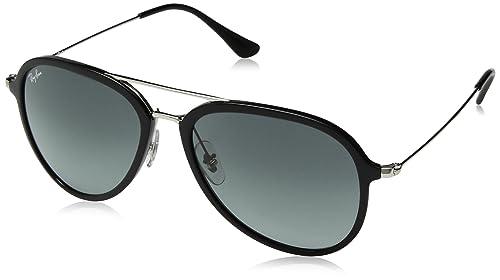 Amazon.com: Ray-Ban RB4298 Aviator - Gafas de sol, Negro, 57 ...