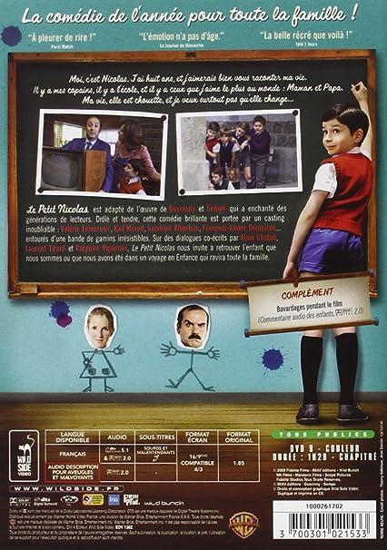Le Petit Nicolas [Francia] [DVD]: Amazon.es: Maxime Godart ...