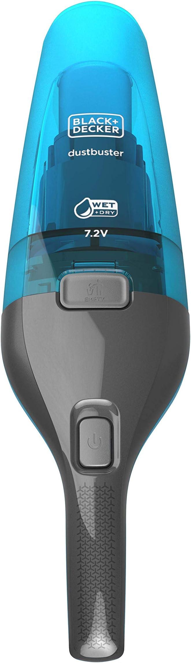 BLACK+DECKER WDC215WA-QW - Aspirador de mano sin cable para líquidos/sólidos 7.2V (1.5Ah), 385ml: Amazon.es: Hogar
