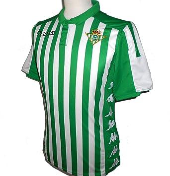 Kappa Official Jersey Home Betis Camiseta de equipación, Hombre ...