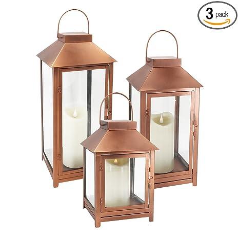 Amazon.com: GiveU DFL-112 - Juego de 3 velas LED con llama ...