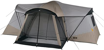 Ridgeway by Kelty Sonoma Cabin Dome Tent with 4 Rooms and Screen Porch  sc 1 st  Amazon.com & Amazon.com : Ridgeway by Kelty Sonoma Cabin Dome Tent with 4 Rooms ...