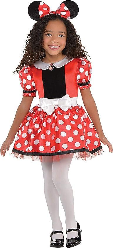 Minnie Costume Baby Girl Dress Mouse Ear Headband Polka Dot Dress