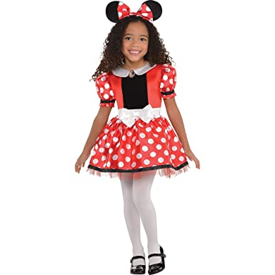 SUIT YOURSELF Disfraz de Minnie Mouse para niñas, talla 2T ...