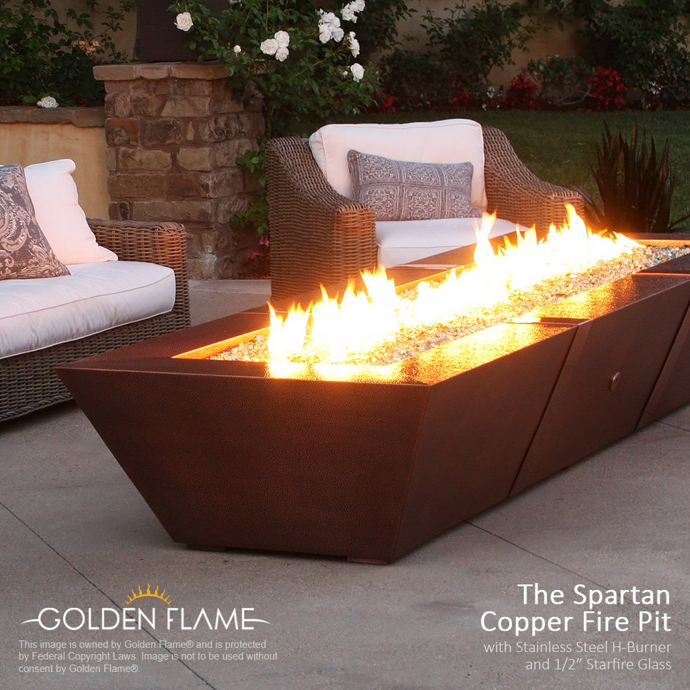 Amazon Com 48 X 8 Fire Pit And Fireplace H Burner 304 Series Ss