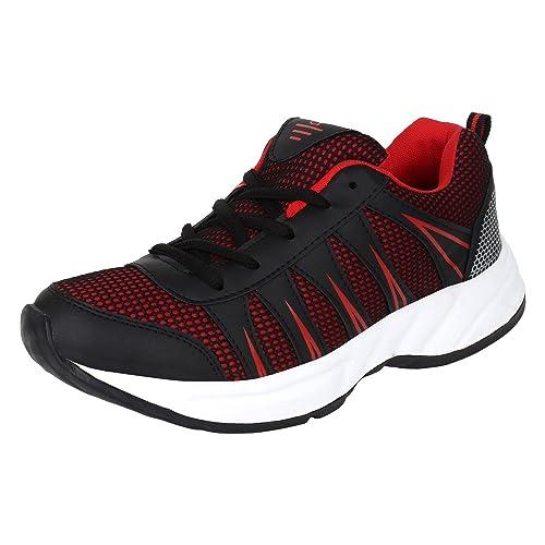 Buy Aero Men's Black Red Running Shoe at Amazon.in