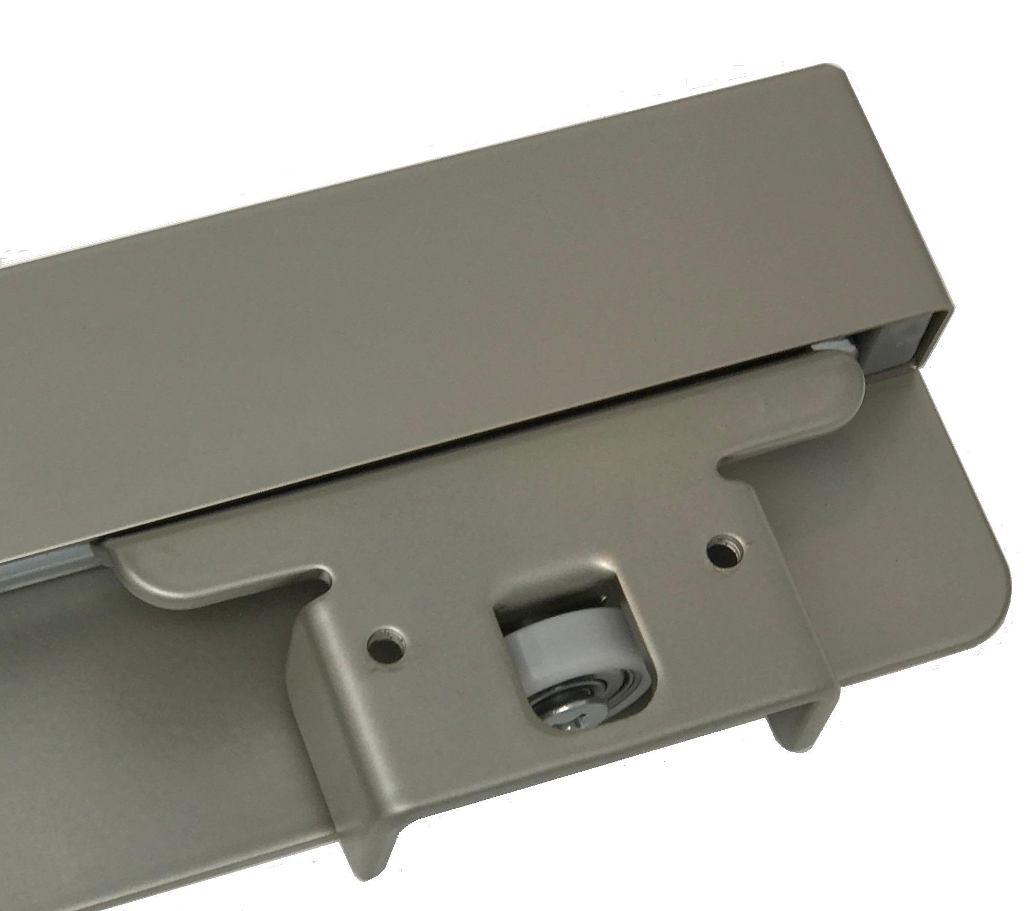 Pants Rack Pant Hanger, Slide Out Side Mount Satin Nickel, For 15'' or wider spaces, Heavy Duty by Cabinet Organizers