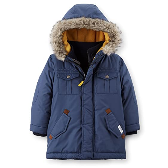 Amazon.com: Carter's Little Boys Coat Jacket 4-in-1 Heavyweight ...
