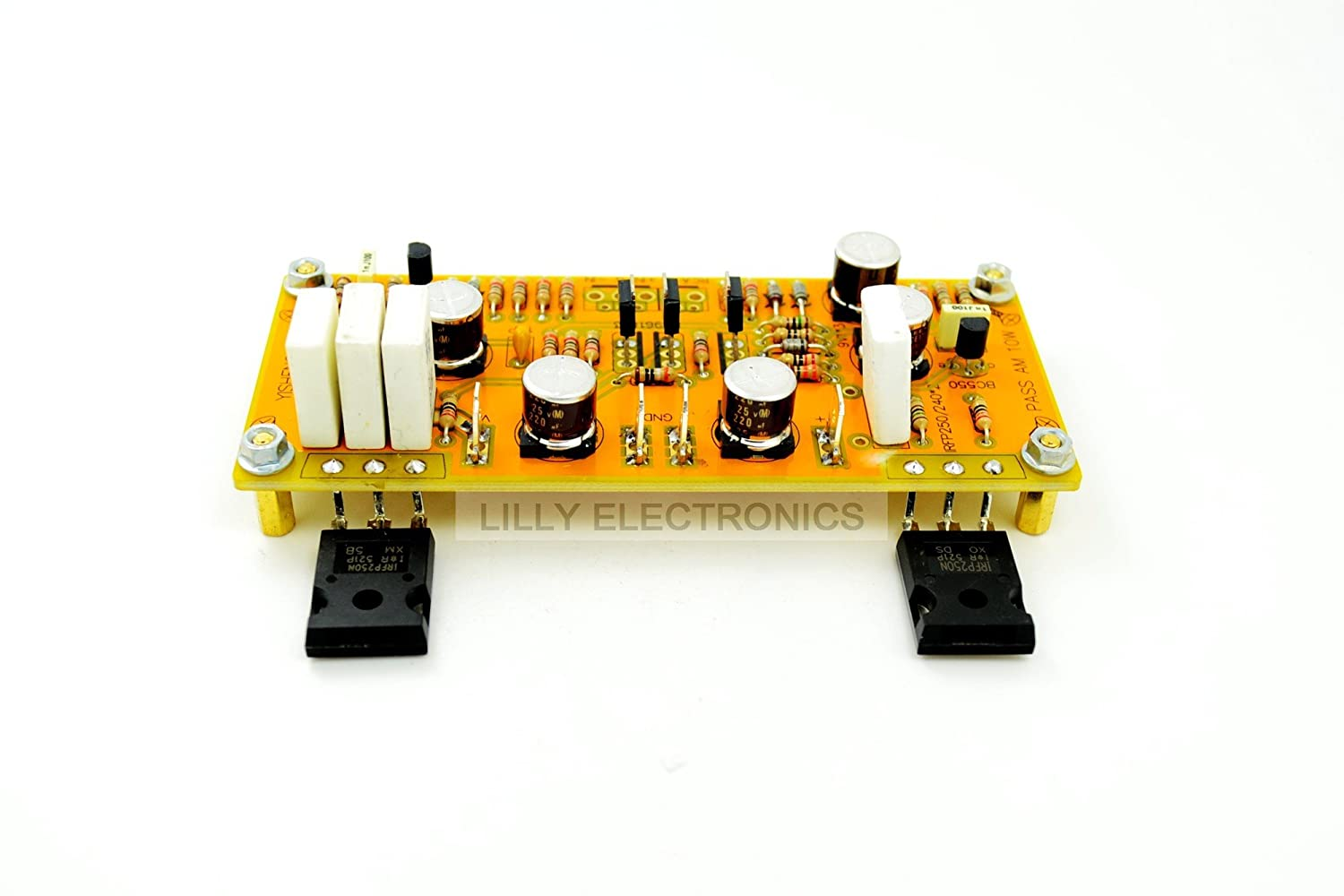 Class A Single Ended Ys Pass Am Amplifier Board 10w Small Hi Fi Preamplifier With Bc550 Diy Tools