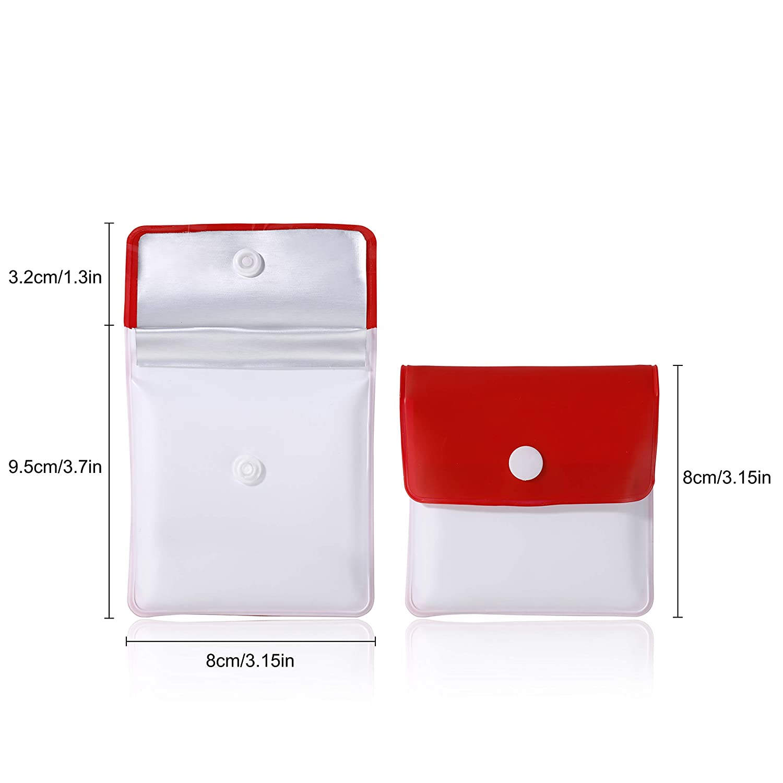 Posacenere Tascabile Portatili Tasca Posacenere PVC Ignifugo Inodore Tasca Portasigarette per Turismo Allaria Aperta 6 Pezzi