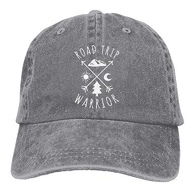 Hoswee Hombres Mujer Gorra Beisbol, Snapback Sombreros Road Trip ...