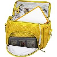 Orzly Travel Bag for Nintendo DS Consoles (New 2DSXL / 3DS / 3DSXL / New 3DS / New 3DS XL/Original DS/DS Lite/DSi/etc…