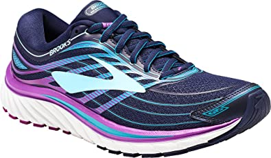 5f729f88fe666 Brooks Women s Glycerin 15 Evening Blue Purple Cactus Flower Teal Victory  12 2A -