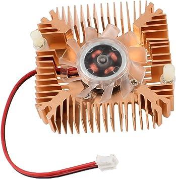 Ventilador de refrigeracion - SODIAL(R)2 Pines Ventilador de ...