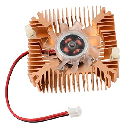 Ventilador de refrigeracion - SODIAL(R)2 Pines Ventilador de refrigeracion Enfriador disipador de