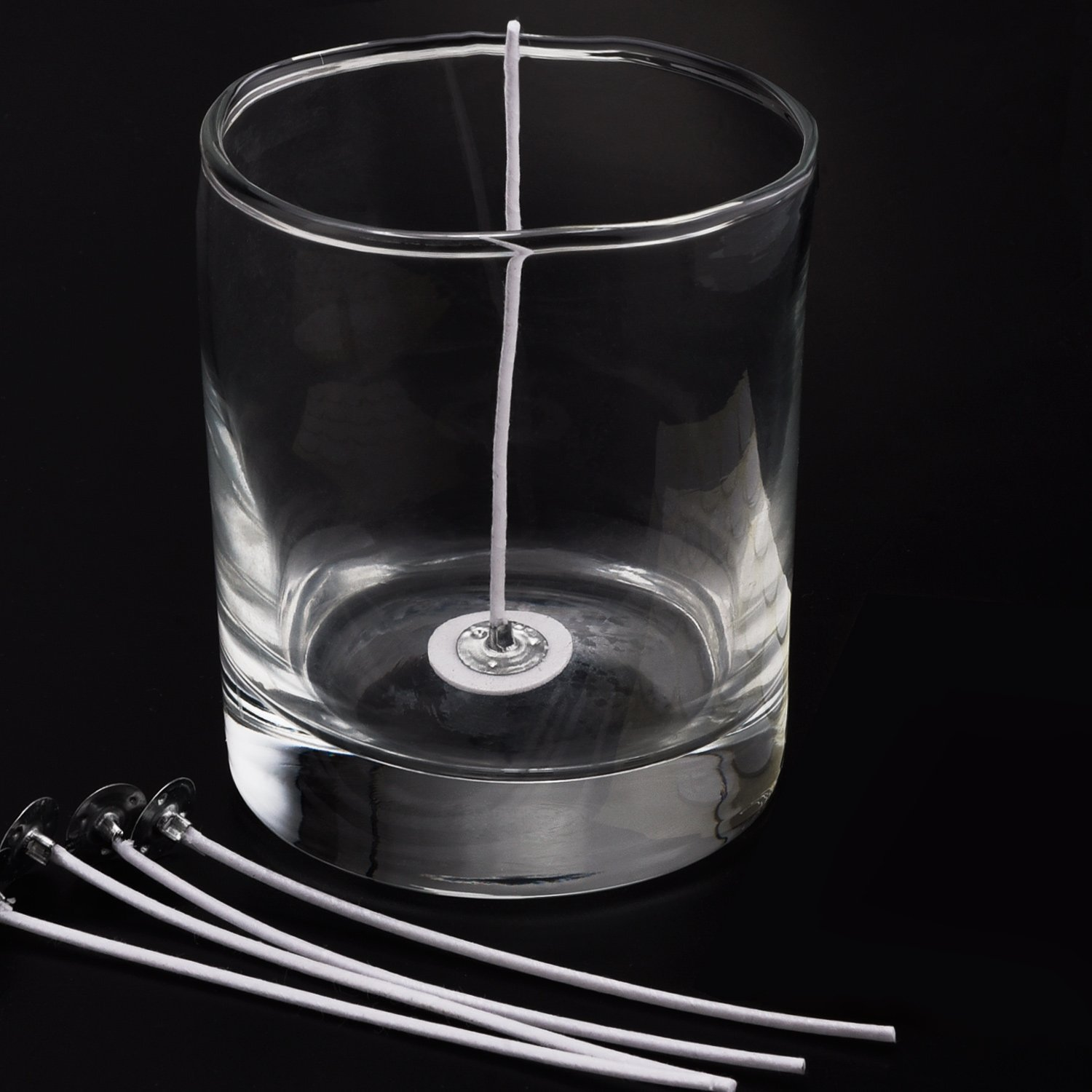 6-inch Natural Candle Wicks for Candle Making 100 Pieces