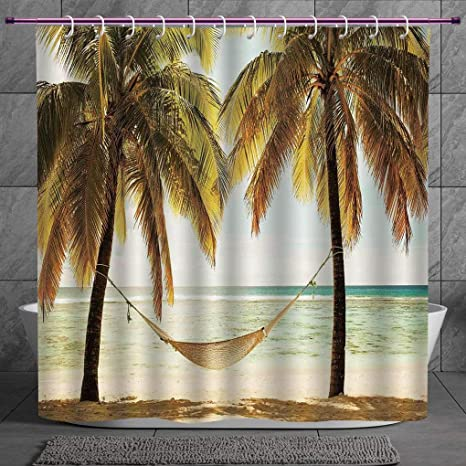 Review SCOCICI Stylish Shower Curtain