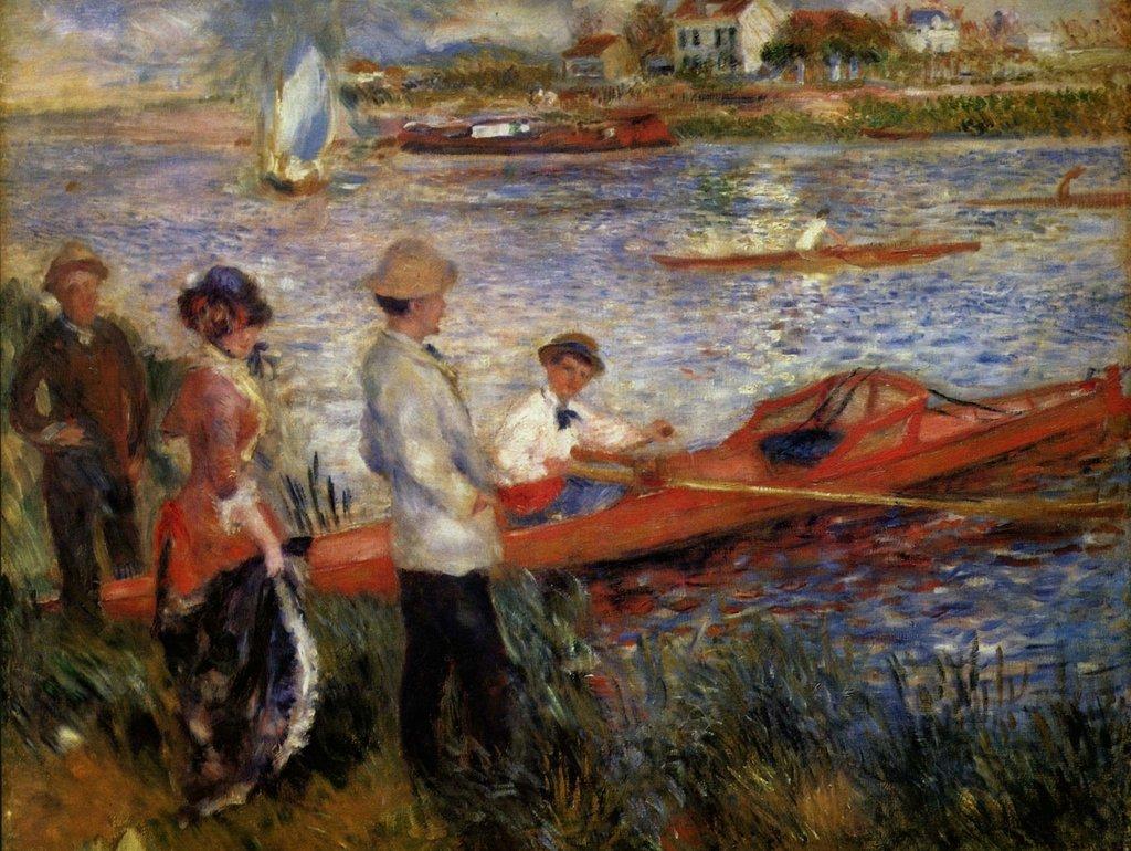 Lais Puzzle Pierre-Auguste Renoir - Ruderer von Chatou 2000 Teile
