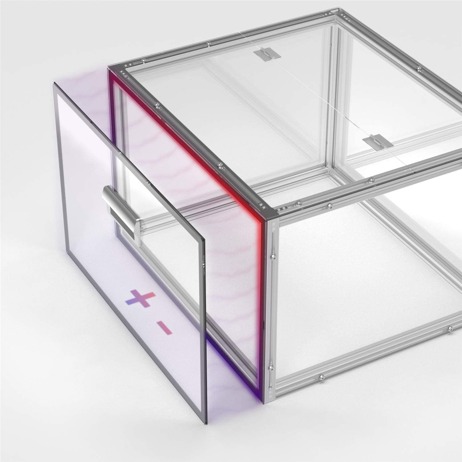 Enhanced Protection Noise Reduction Dustproof Genmitsu Acrylic CNC Enclosure Compatible with 3018-PRO//3018//3018-MX3//3018-PROVer//1810-PRO 460 x 400 x 310 mm
