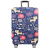 WINRAN スーツケースカバー キャリーバッグ カバー 耐久性 伸縮素材