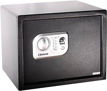 Safewell SW-30FPN - Caja Fuerte con escáner de Huella Dactilar: Amazon.es: Bricolaje y herramientas