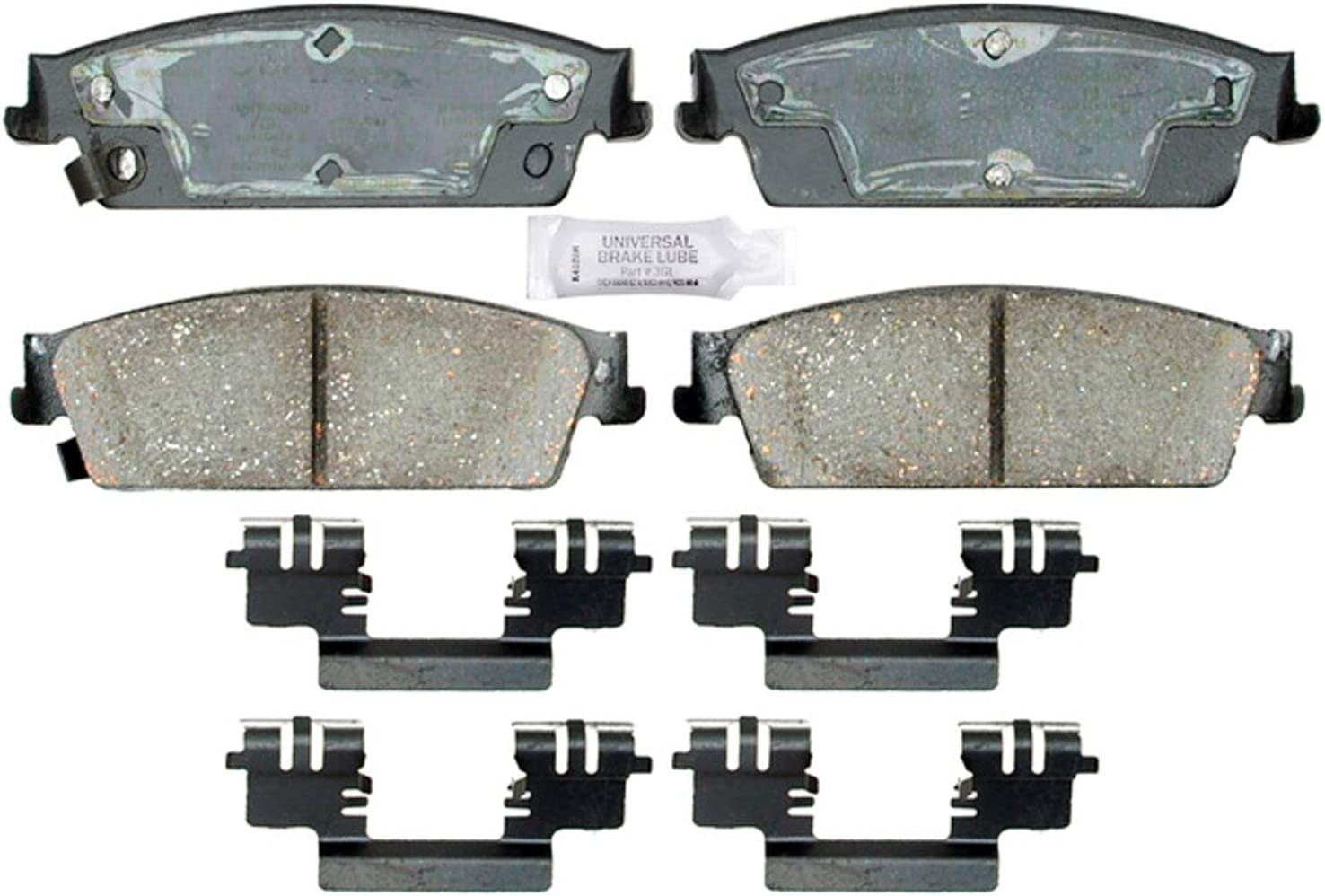 NEW Front and Rear Brake Pad Sets Kit ACDelco For Chevrolet Cadillac GMC 2007