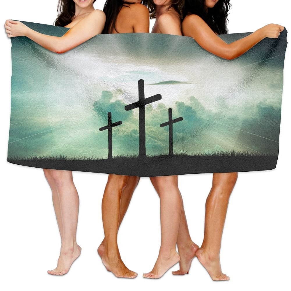 KTMB Christian Faith God Jesus Sky Washable Extra Large Bath Beach Towel Soft Personality Towel