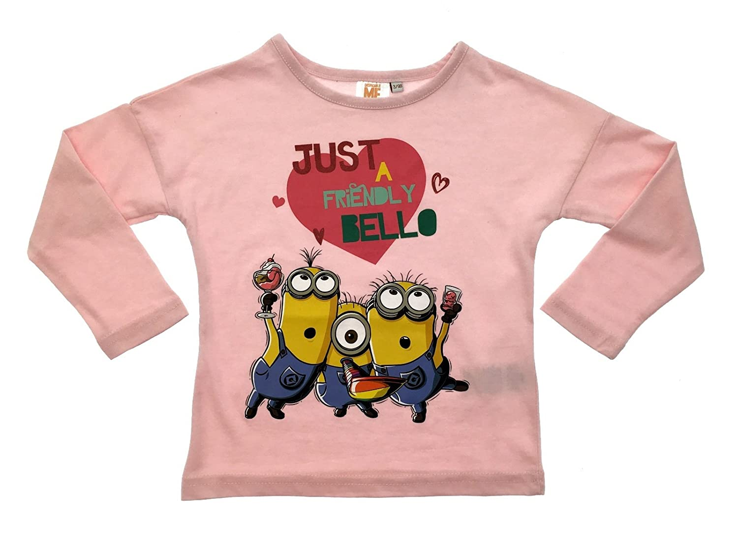 Despicable Me Minions Girls Short Sleeve T-Shirt