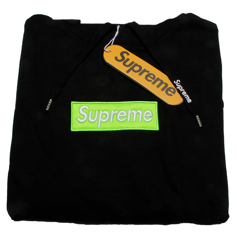 Supreme Spain - Sudadera con Capucha - Redondo - para Hombre Schwarz-n.grün XL: Amazon.es: Ropa y accesorios