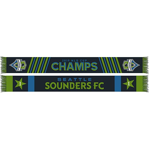 Ruffneck Scarves Seattle Sounders FC 2019 MLS Cup Champs Scarf
