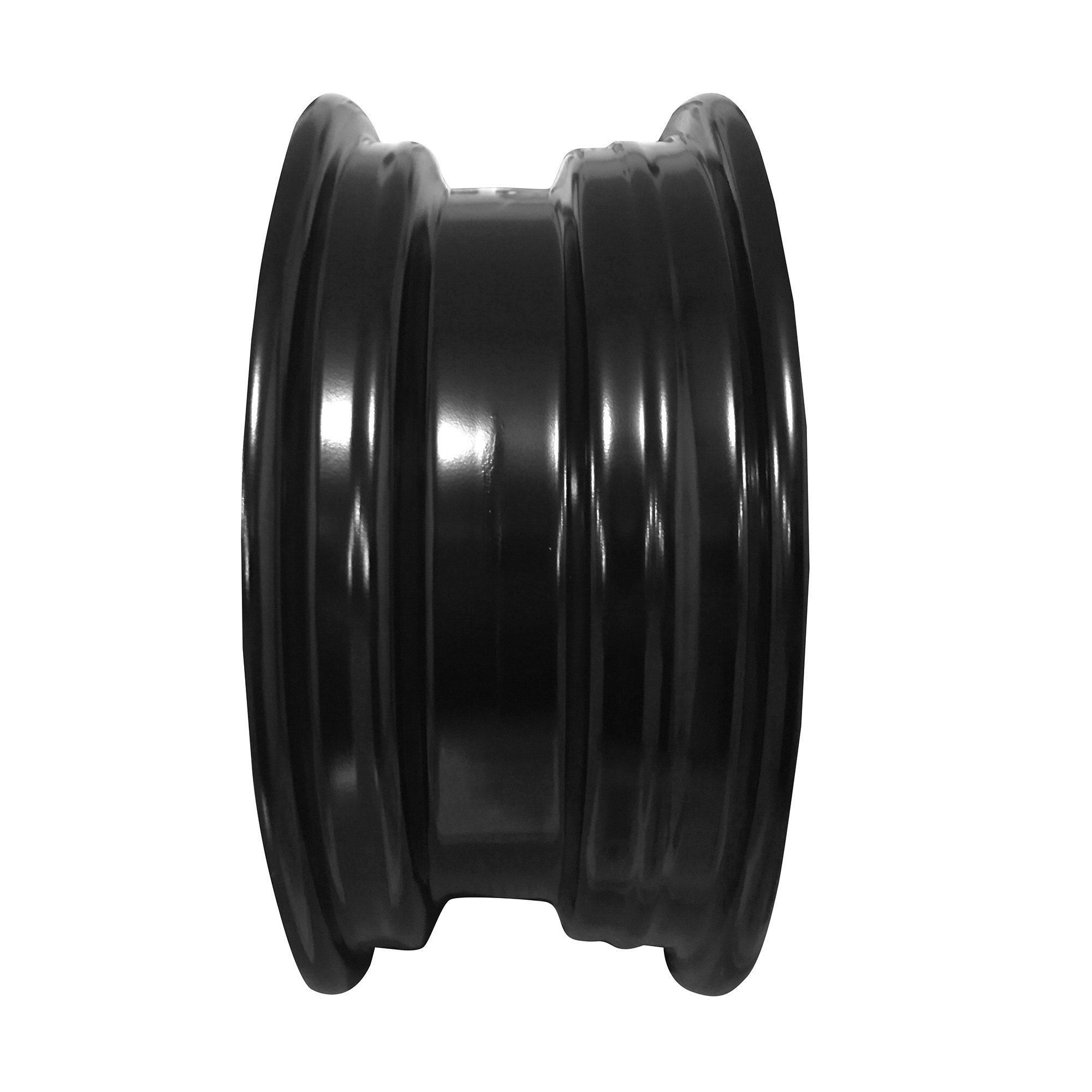 New 14x5 Inch 4 Lug 06-12 Toyota Yaris Full-Size Black Steel Replacement Wheel Rim by Road Ready Wheels (Image #4)