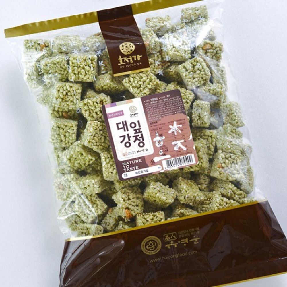 Changpyeong Bamboo Leaf Rice Crunch 500G by Changpyeong