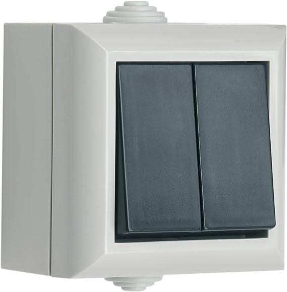 SMJ EP2G1B - Caja con Interruptor Doble: Amazon.es: Bricolaje y herramientas