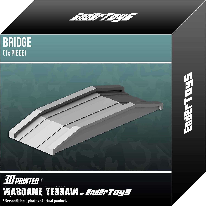 3D Printed Tabletop RPG Scenery and Wargame Terrain for 28mm Miniatures Cobblestone Bridges